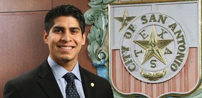 District 4 Councilman Rey Saldaña.