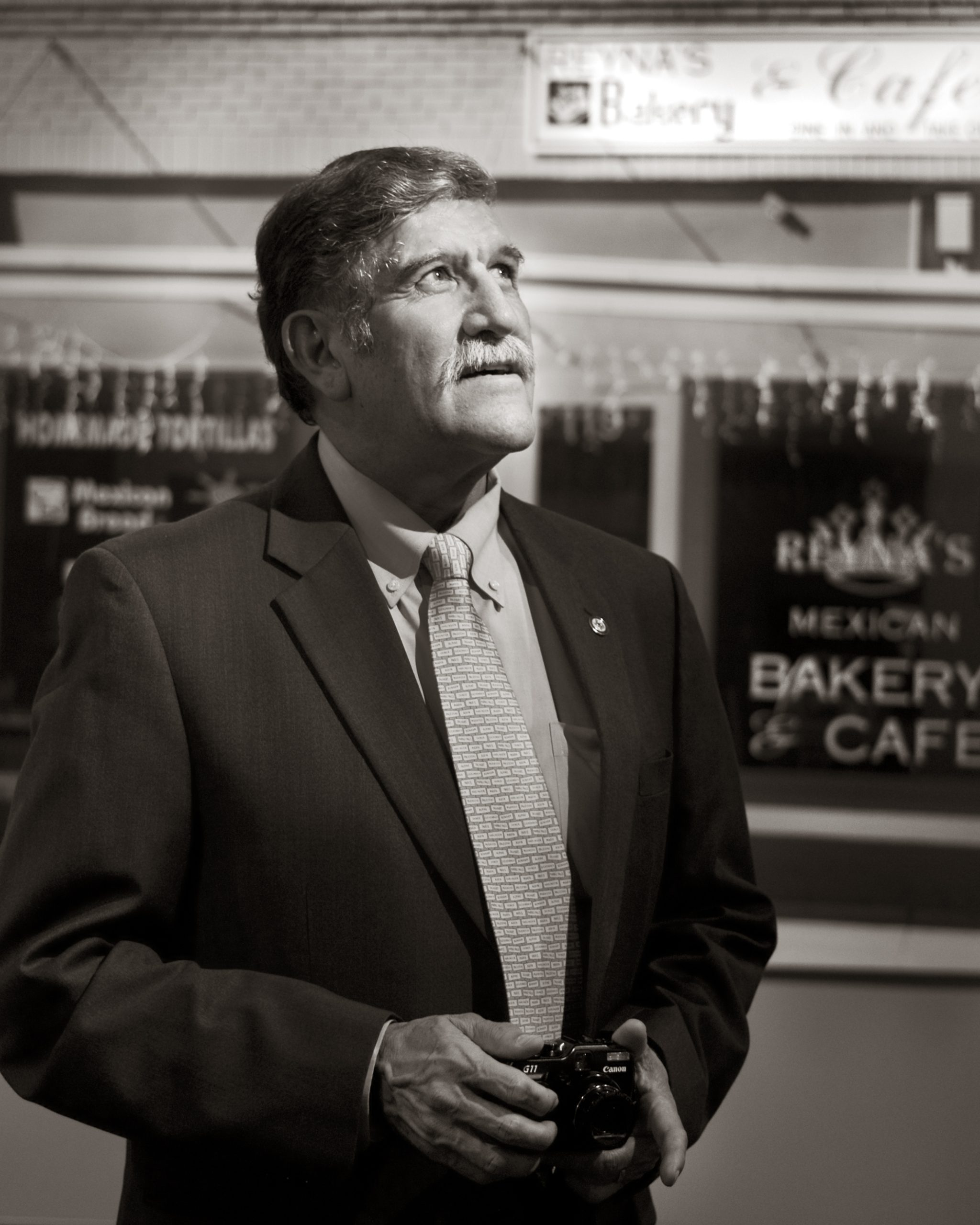 Ricardo Romo, Ph.D., University President and Photographer.