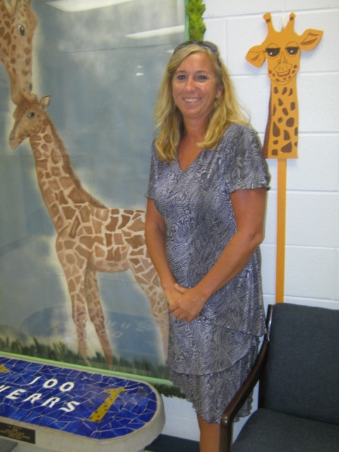Dr. Traci Smith, principal of Herff Elementary School
