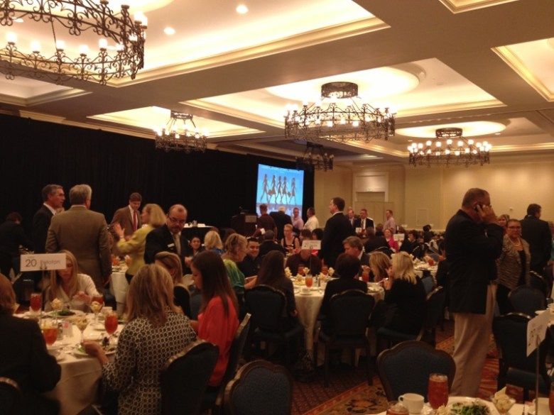 Designing Downtown for Women luncheon at the Westin