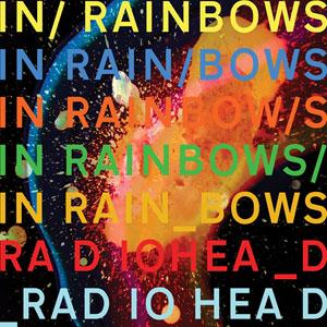 """""""In Rainbows"""" album cover, art by Nigel Godrich."""