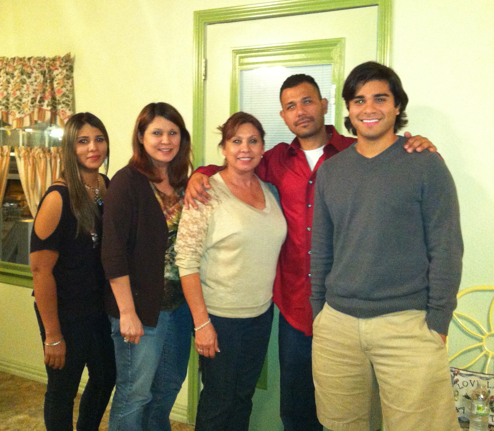 The Solis Family: my mom, my sisters Anita, Norma, and my brother Gilbert.