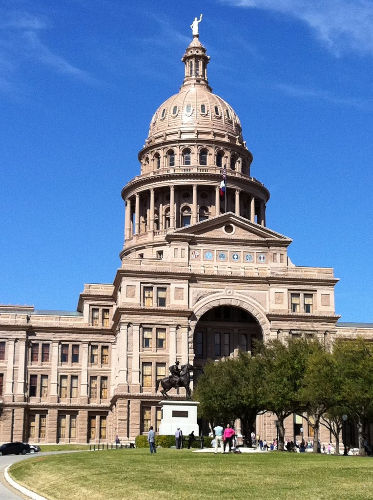 A beautiful day at my former office, Texas State Capitol building in Austin. Photo by Jaime Solis.