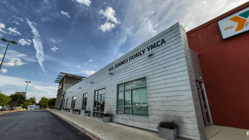 The D.R. Semmes Family YMCA at TriPoint. Photo from the organization's virtual tour.