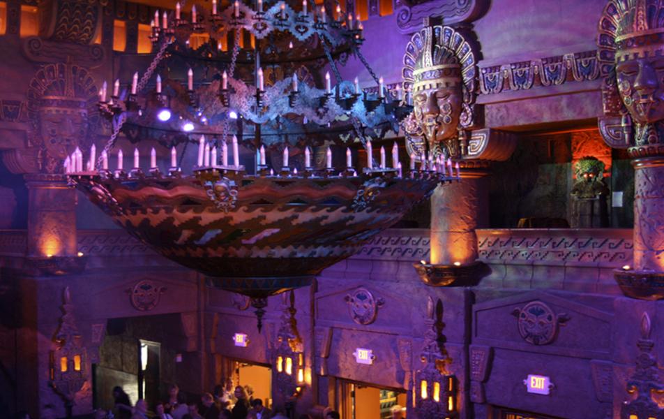 The Aztec Theatre interior. Courtesy photo.