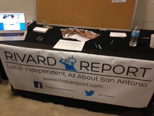 The interactive Rivard Report booth at TEDx San Antonio 2013.