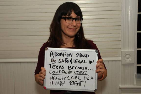 "Lindsay Rodriguez' contribution to the September 28 Campaign, a ""global day of action for access to safe and legal abortion."" (www.september28.org)"