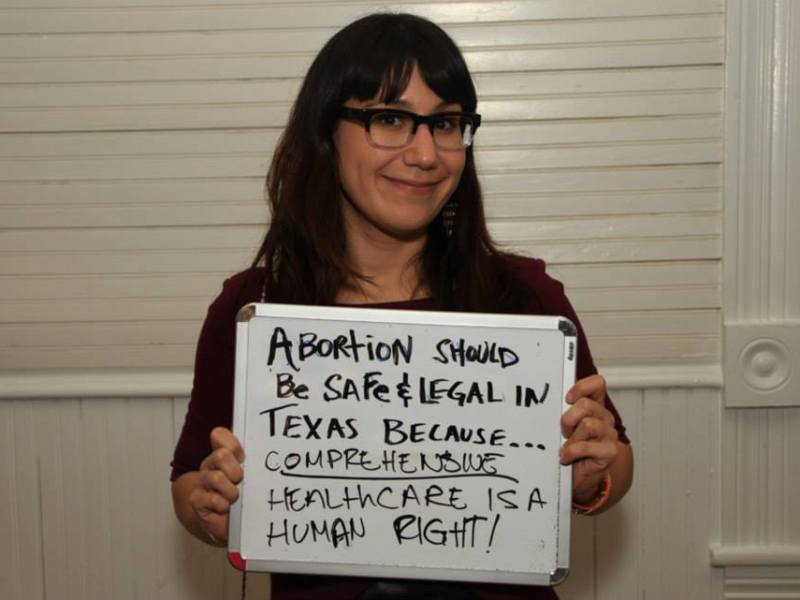 """Lindsay Rodriguez' contribution to the September 28 Campaign, a """"global day of action for access to safe and legal abortion."""" (www.september28.org)"""