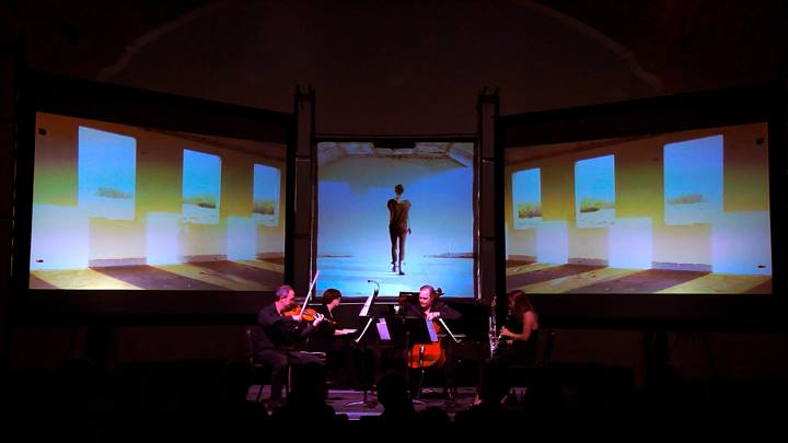 SOLI Chamber Ensemble performs a piece of commissioned work. Courtesy photo.