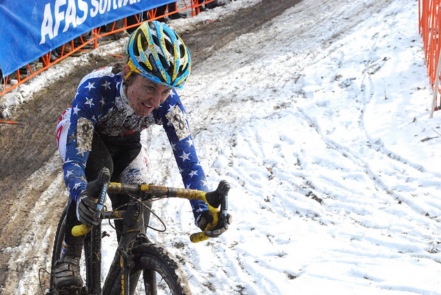 Professional cyclocross racer Amy Dombroski's recent death is tragic news, as are the fatalities of the 600+ Americans killed every year in bike accidents. Photo courtesy PeopleForBikes.