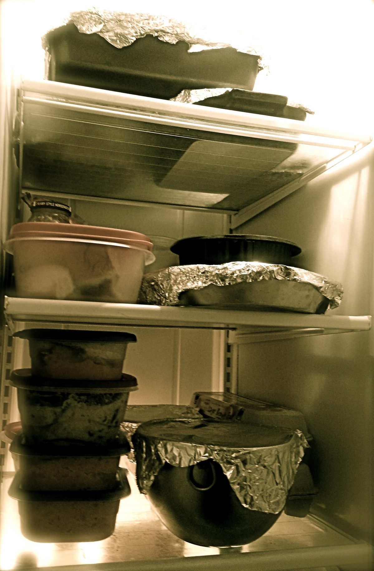 Thanksgiving 2013 leftovers. Photo by Iris Dimmick.