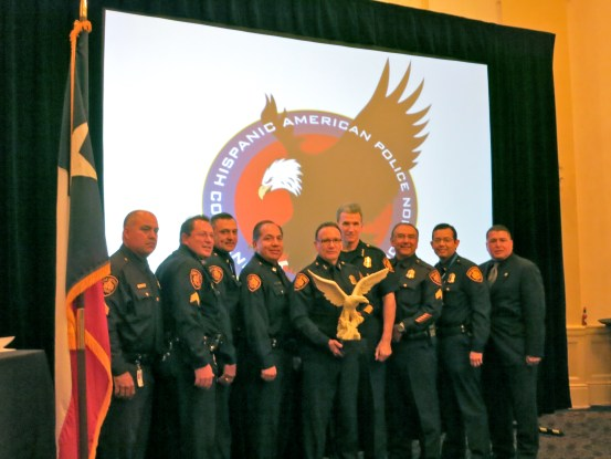 Law enforcement officers at the 2013 Aguila Awards Luncheon