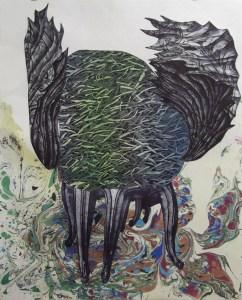 Winged Ottoman, Margaret Craig