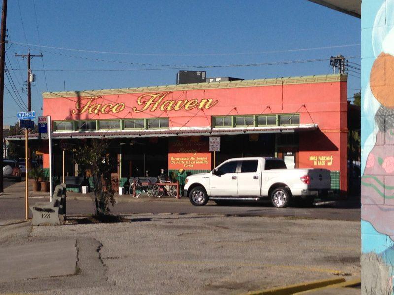 Taco Haven in Southtown, 1032 S. Presa St. Photo by Randy Bear.