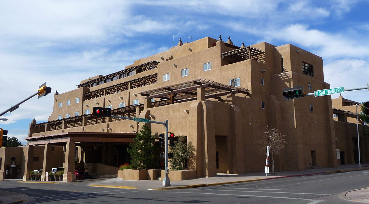 Santa Fe's decision to embrace it's history has led to worldwide recognition for history, culture and architecture. The El Dorado Hotel in Santa Fe, N.M. is an example of modern architecture that pays homage to its regional history. Courtesy photo.