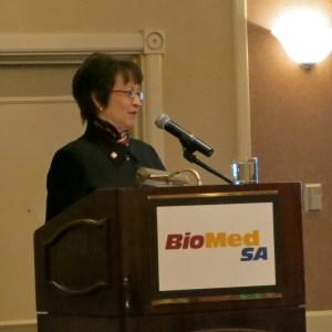 BioMed SA president Ann Stevens.