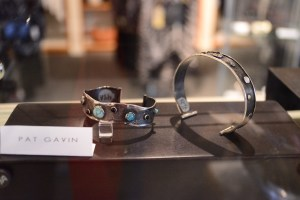 Pat Gavin jewelry at Kathleen Sommers. Photo by Page Graham.