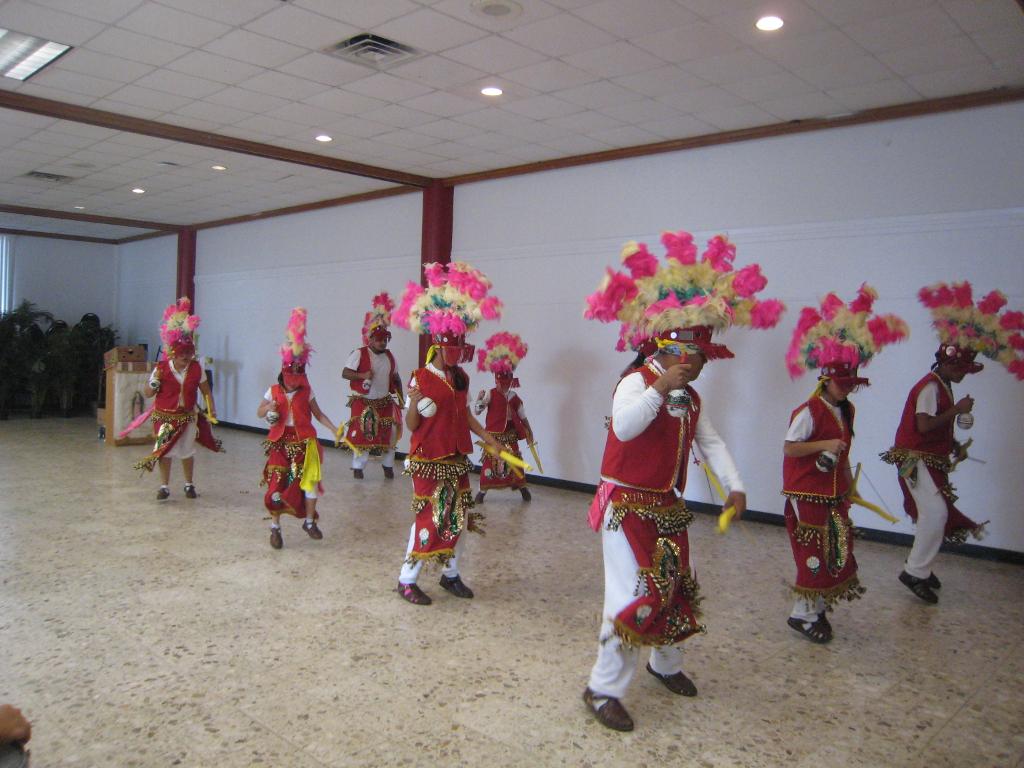 """La Danza de Matachines"" at Mission Concepción. Photo by Sister Martha Ann Kirk."