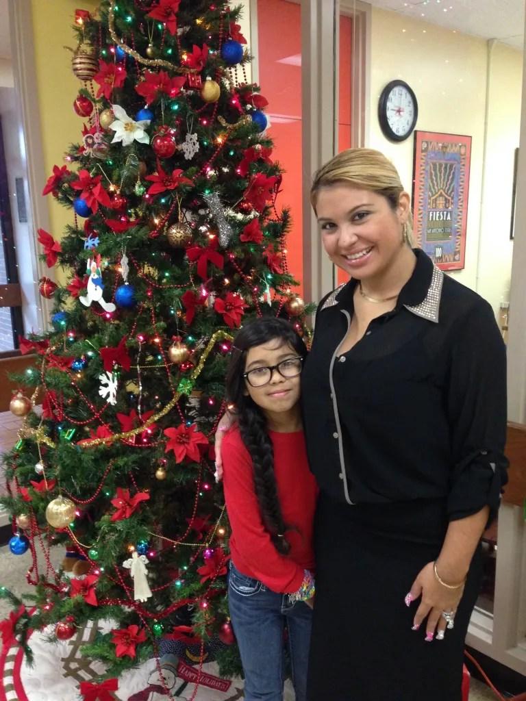 Flor and Heaven Lee Guerra: Two generations at JT Brackenridge Elementary School