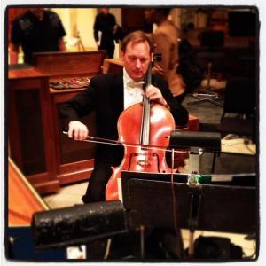 Ken Freudigman onstage.
