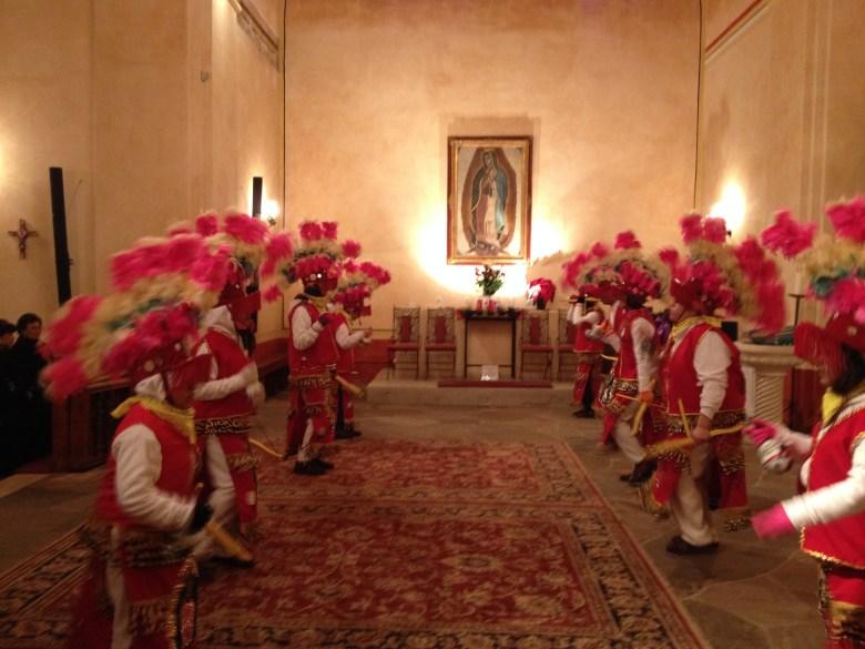 La Danza de las Matachines at Mission Concepción. Photo by Robert Rivard