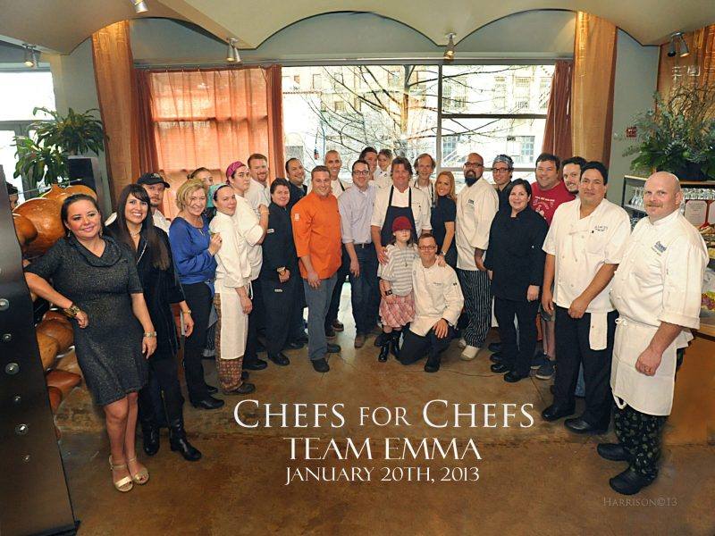 More than 300 people attended the 2013 Chefs for Chefs brunch for Team Emma Dirmeyer. Courtesy photo.