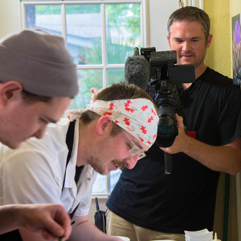 Filming Southtown Supper Club