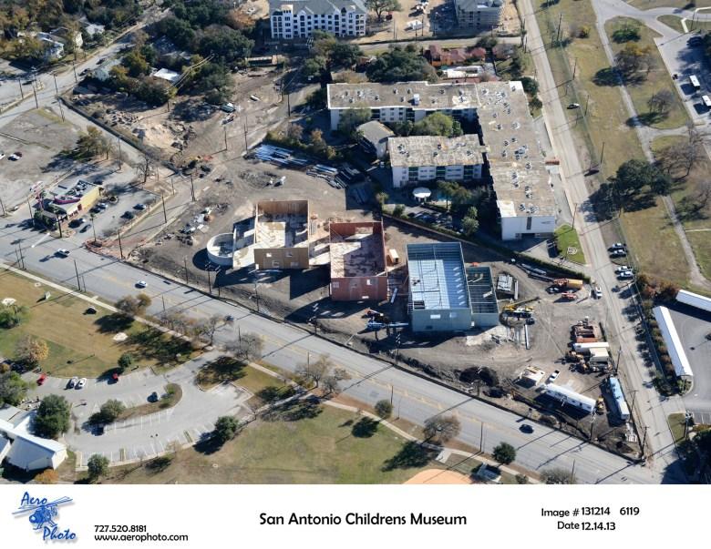 SA Children's Museum Construction Aerial