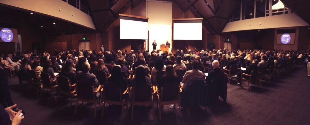 The Big Give SA kick off at the Oblate School of Theology. Photo tweeted by SA2020.