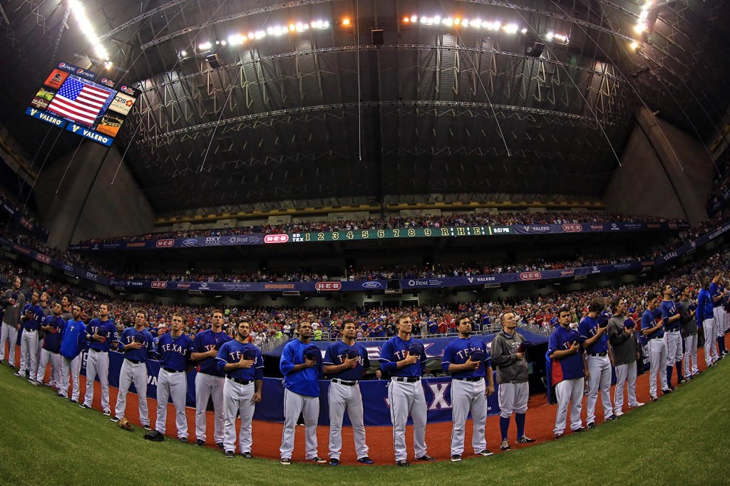 About 75,000 fans pack the Alamodome during the 2013 Big League Weekend. Photo courtesy of The City of San Antonio.