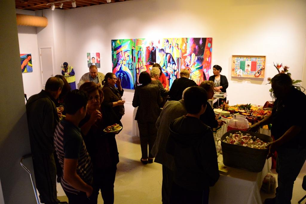Segundo do Febrero exhibit at Centro Cultural Aztlan. Photo by Page Graham.