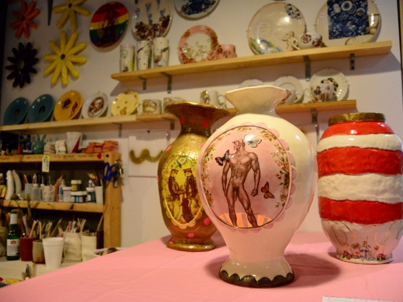 Images from the 2014 On and Off Fredericksburg Road Studio Tour.