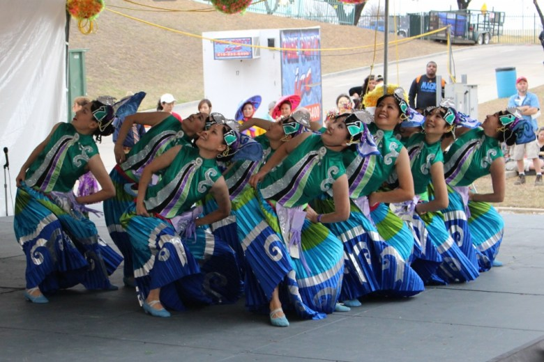 Traditional Asian cultural dance is a key component of the Asian Festival. Photo by Page Graham.