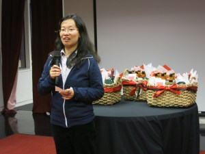 CfA Fellow Amy Mok. Photo by Miriam Sitz.