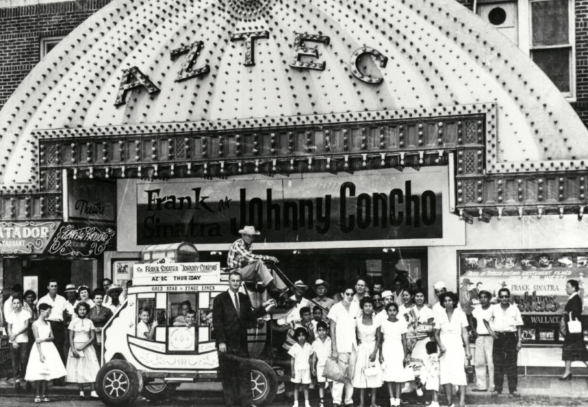 The Aztec hosted stars such as Frank Sinatra. Courtesy Photo.