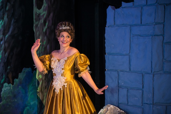 """Mellissa Zarb-Cousin plays Cinderella in """"Into the Woods"""" at the Woodlawn Theatre. Photo by Siggi Ragnar"""