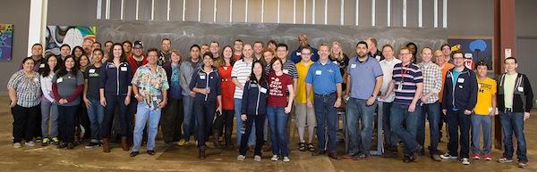 OpenSATX CodeAcross Participants. Photo by Joseph Lopez.