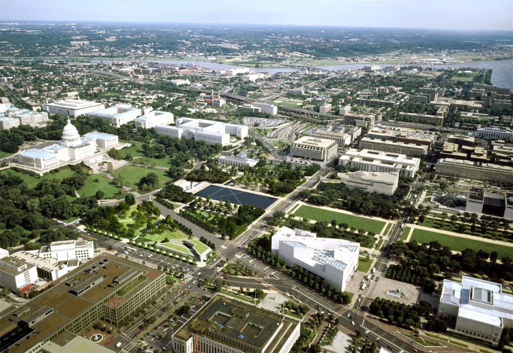 Unified Ground: Union Square – National Mall Competition in Washington, DC by GUSTAFSON GUTHRIE NICHOL (image credit: GGN/Methanoia)