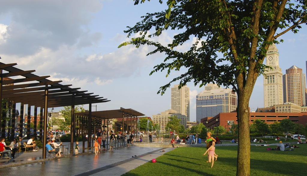 North End Parks in Boston, MA by GUSTAFSON GUTHRIE NICHOL (image credit: GGN)