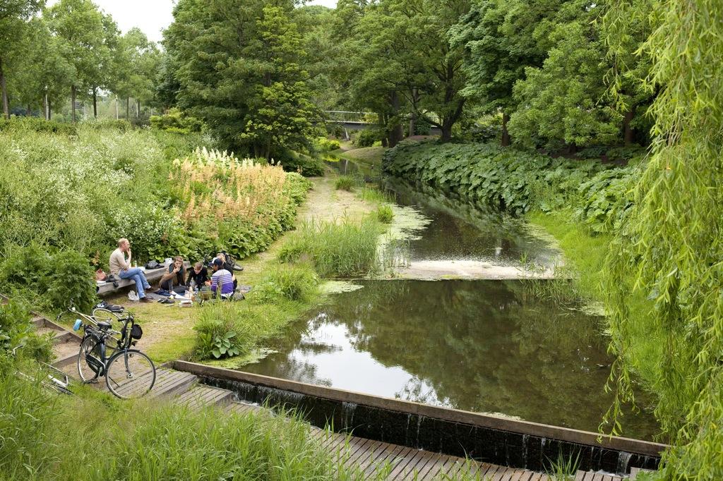 Cultuurpark Westergasfabriek in Amsterdam, The Netherlands by GUSTAFSON PORTER (image credit: Tomas Schlijper)