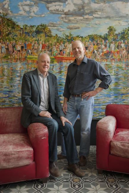 David Lake (left) and Ted Flato. Courtesy photo.