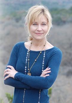 Author Elizabeth Crook.