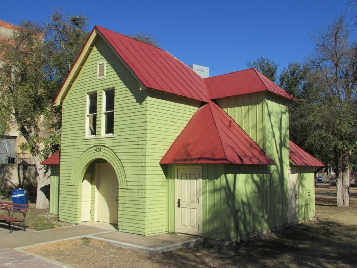 Hermann Carriage House after renovation. Photo courtesy of the San Antonio Conservation Society.
