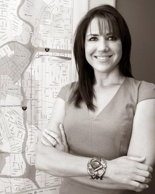 Lori Houston, director of the Center City Development Office. Photo by Al Rendon.