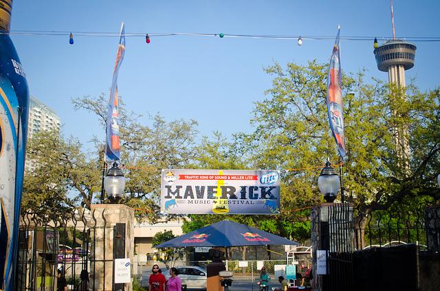Historic La Villita transformed for the 2013. Maverick Music Festival. Photo by Francisco Cortes.