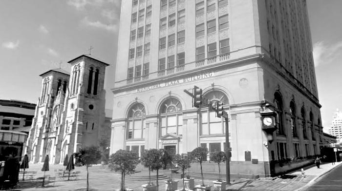 The Municipal Plaza Building at Main Plaza.
