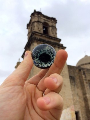 A lost sphere found at Mission San Jose