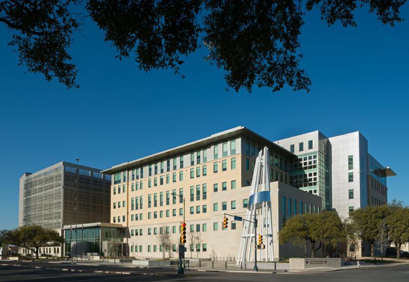 City of San Antonio's Public Safety Headquarters at 315 South San Rosa St.