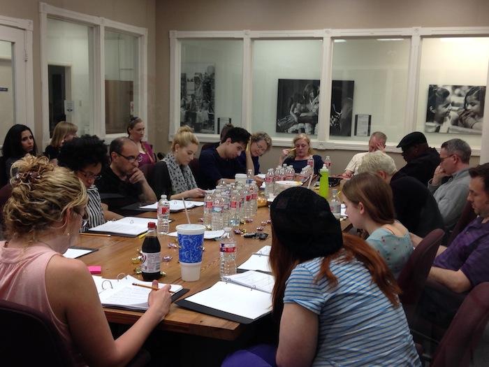 I Am Region 8 rehearsal at CASA. Photo by Elisabeth Reise