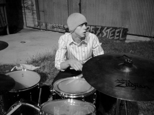 A teenage Hunter Bates (author) in San Antonio. Courtesy photo.